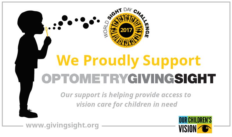 aa97b9bc3c6 Proud supporter of Optometry Giving Sight